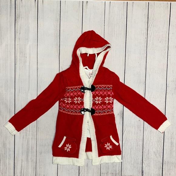 Little Lass Christmas Sweater and Penguin Shirt